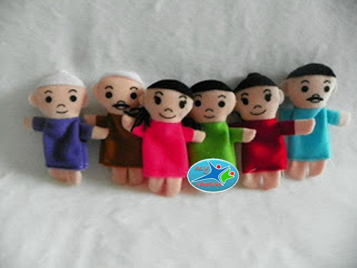 Alat Peraga Edukatif Boneka Jari Keluarga 57595b6501