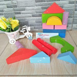 Mainan Edukasi Balok Bangunan
