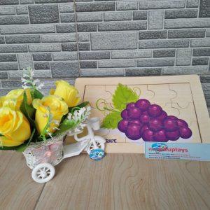 Mainan Edukasi Puzzle Anggur