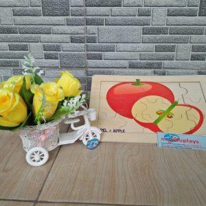 Mainan Edukasi Puzzle Apel