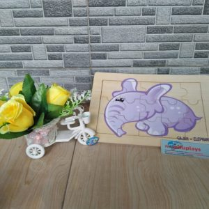 Mainan Edukasi Puzzle Gajah