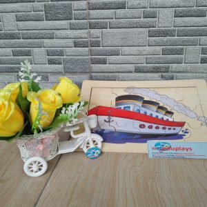 Mainan Edukasi Puzzle Kapal Laut