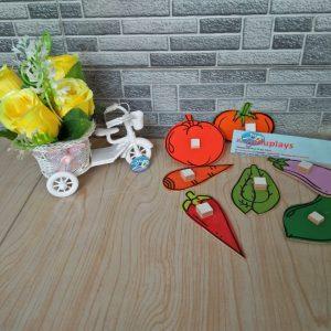 Mainan Edukasi Patrun Sayuran